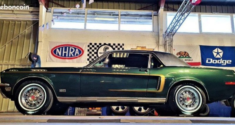 Ford Mustang coupe 68 gt pack 302 4v Vert occasion à Saint Jeannet