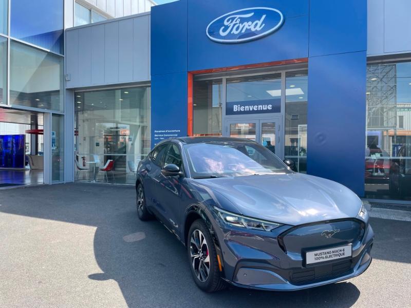 Ford Mustang Extended Range 99kWh 351ch AWD 9cv Bleu occasion à Fleury-les-Aubrais - photo n°2
