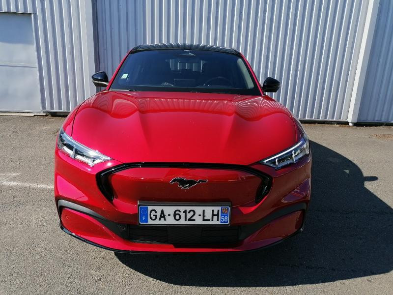 Ford Mustang Extended Range 99kWh 351ch AWD 9cv Rouge occasion à Varennes-Vauzelles - photo n°2