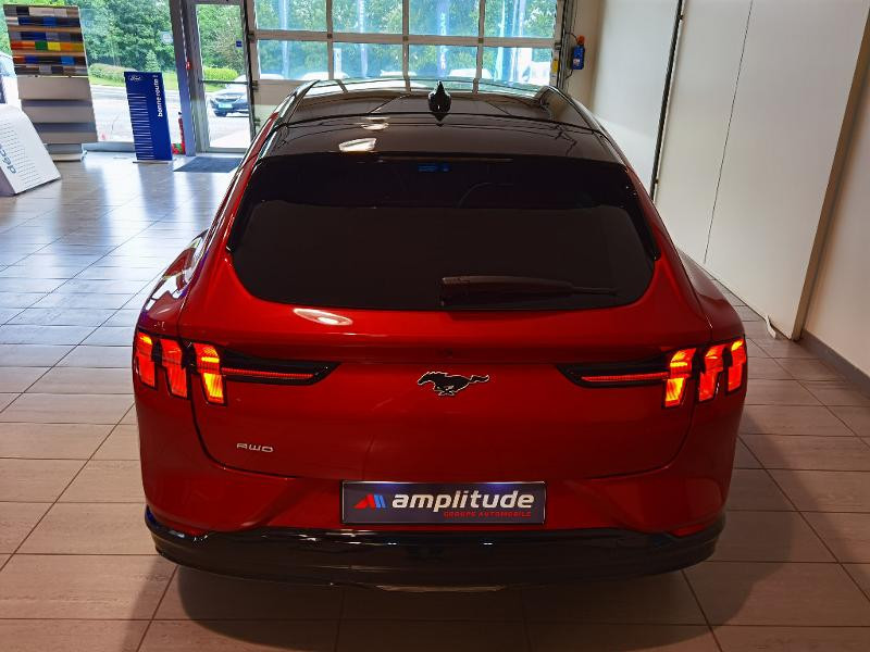 Ford Mustang Extended Range 99kWh 351ch AWD 9cv Rouge occasion à Chaumont - photo n°5