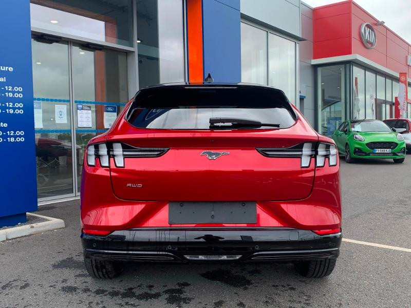 Ford Mustang Extended Range 99kWh 351ch AWD Rouge occasion à Amilly - photo n°5