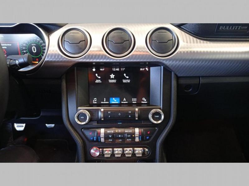 Ford Mustang FASTBACK V8 5.0 Bullitt  occasion à SAINT-GREGOIRE - photo n°8