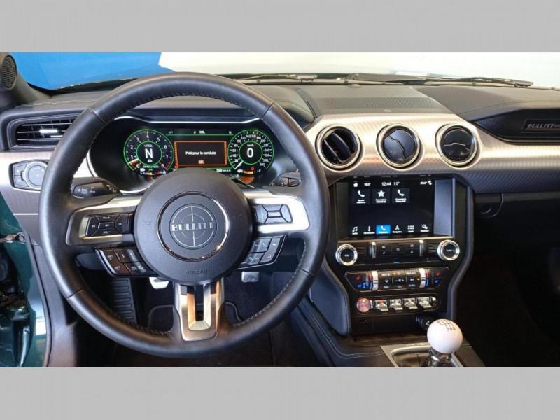 Ford Mustang FASTBACK V8 5.0 Bullitt  occasion à SAINT-GREGOIRE - photo n°7