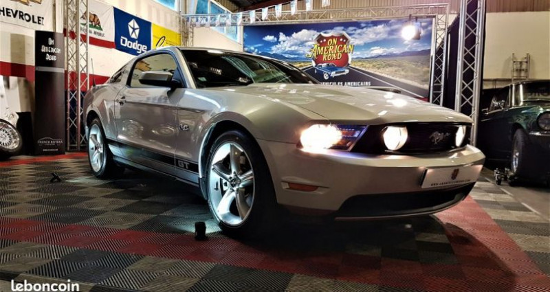 Ford Mustang gt 5.0l bva 2012  occasion à Saint Jeannet - photo n°2
