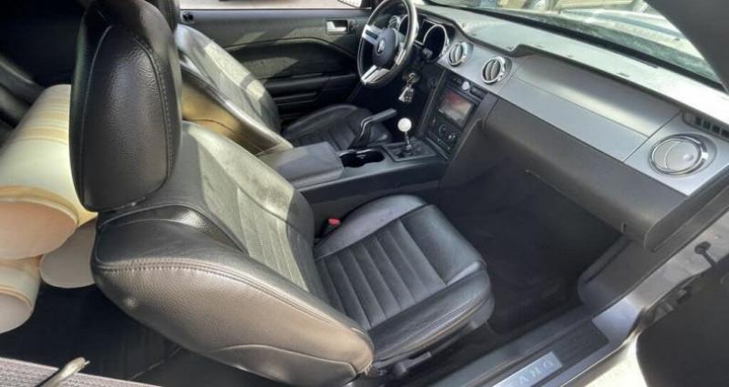Ford Mustang Gt coupé deluxe prix tout compris hors homologation 4500 ? Gris occasion à Paris - photo n°7