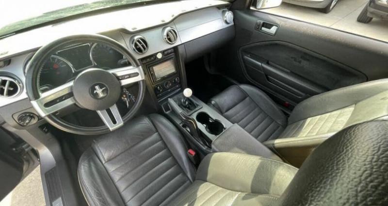 Ford Mustang Gt coupé deluxe prix tout compris hors homologation 4500 ? Gris occasion à Paris - photo n°3