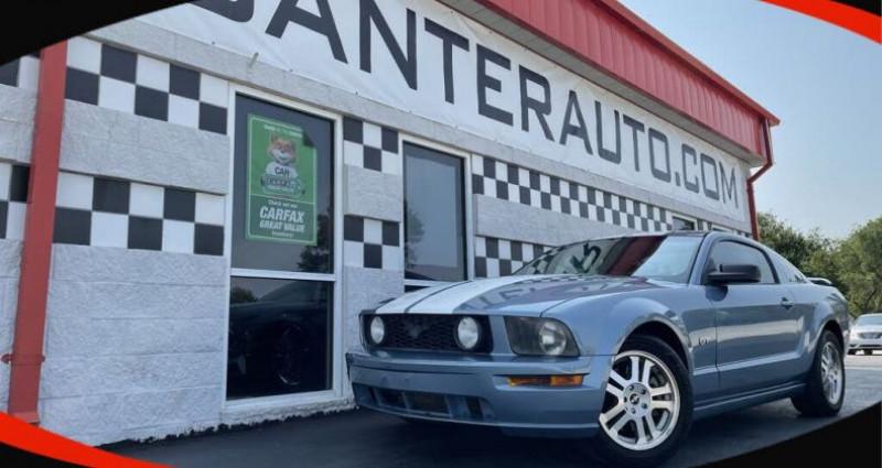 Ford Mustang Gt deluxe coupe prix 2006 tout compris hors homologation 450 Bleu occasion à Paris