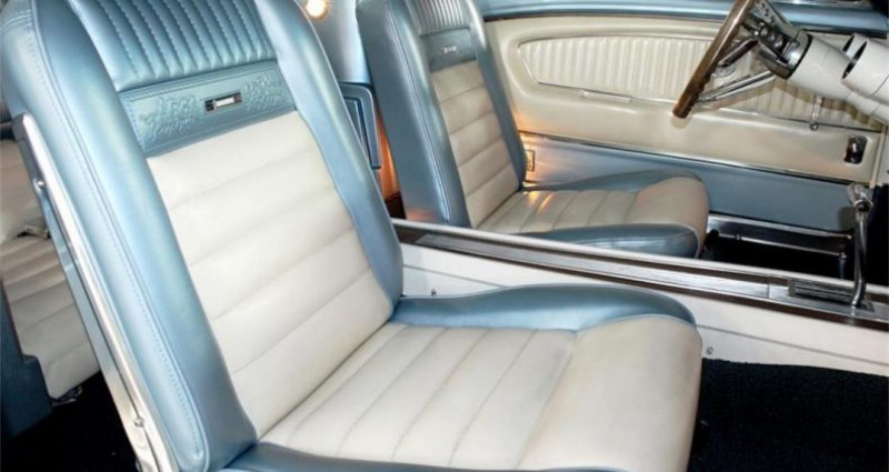 Ford Mustang Gt fastback v8 1965 prix tout compris Gris occasion à PONTAULT COMBAULT - photo n°7