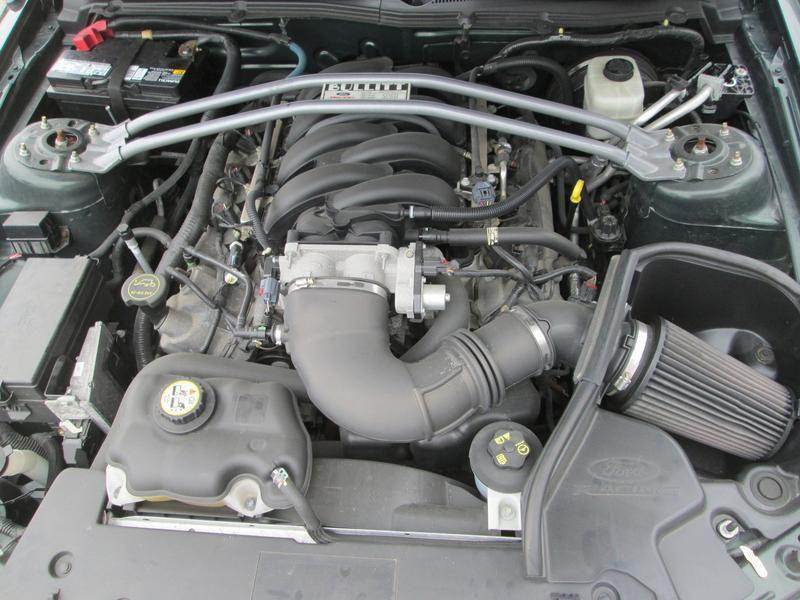 Ford Mustang Mustang Bullitt serie limitee V8  Vert occasion à Montgeron - photo n°6