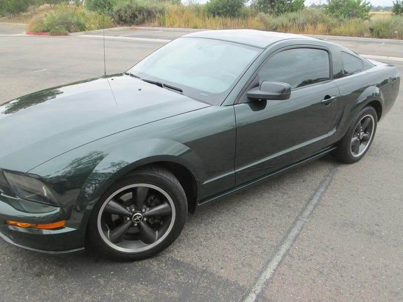 Ford Mustang Mustang Bullitt serie limitee V8  Vert occasion à Montgeron