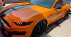 Ford Mustang Shelby GT350 V8 5.2L Orange à Le Coudray-montceaux 91