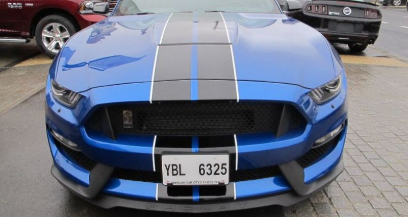 Ford Mustang Shelby GT350 V8 5.2L Bleu occasion à Le Coudray-montceaux - photo n°2