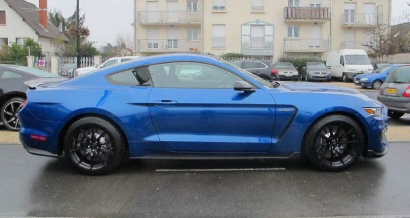 Ford Mustang Shelby GT350 V8 5.2L Bleu occasion à Le Coudray-montceaux - photo n°3