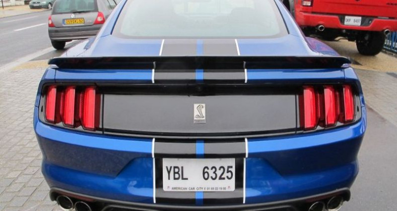 Ford Mustang Shelby GT350 V8 5.2L Bleu occasion à Le Coudray-montceaux - photo n°4