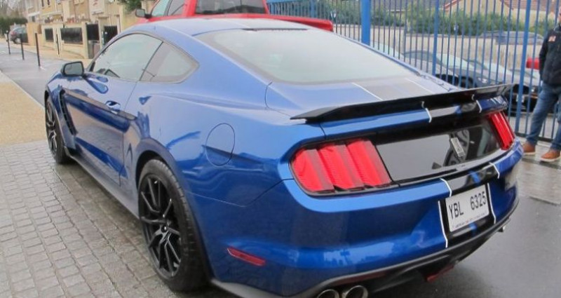 Ford Mustang Shelby GT350 V8 5.2L Bleu occasion à Le Coudray-montceaux - photo n°5