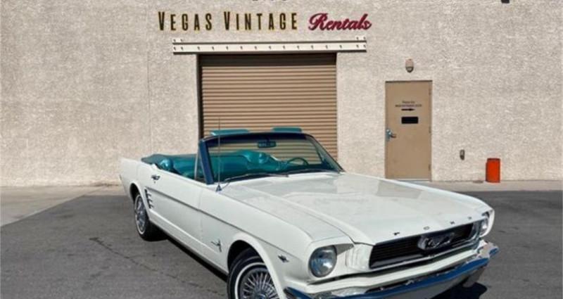 Ford Mustang V8 2889 1966 prix tout compris Blanc occasion à Paris
