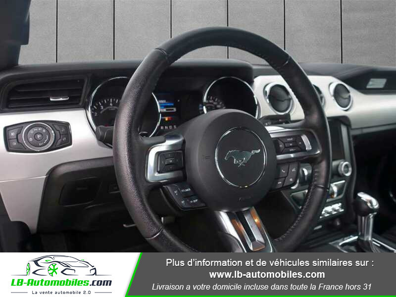 Ford Mustang V8 5.0 421 / GT A Gris occasion à Beaupuy - photo n°8