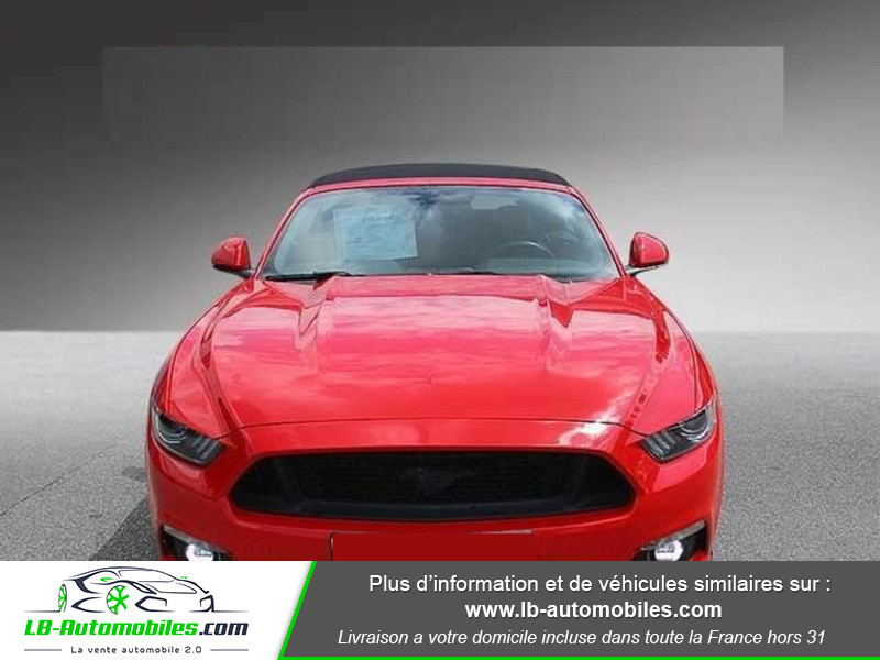 Ford Mustang V8 5.0 421 / GT A Rouge occasion à Beaupuy - photo n°8