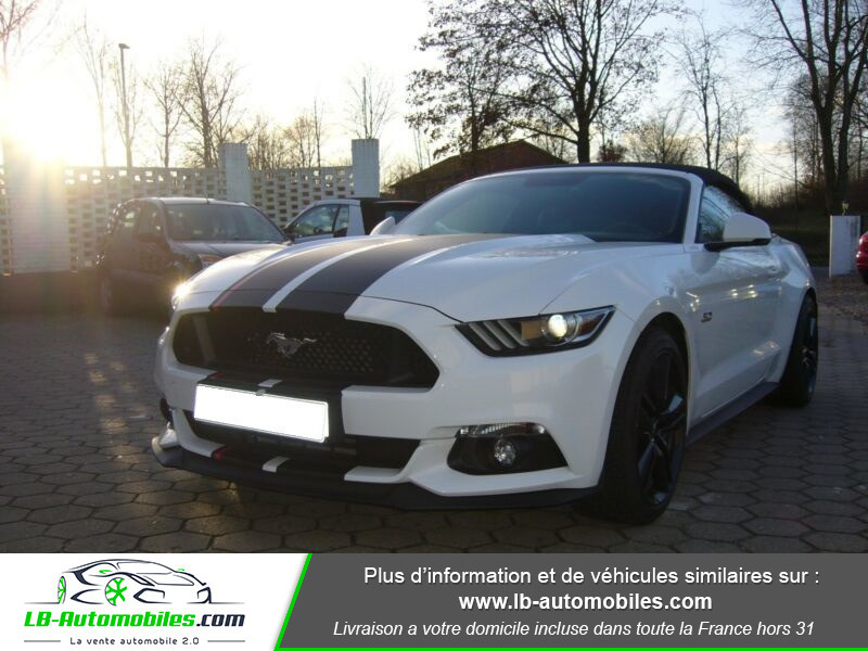 Ford Mustang V8 5.0 421 / GT A Blanc occasion à Beaupuy