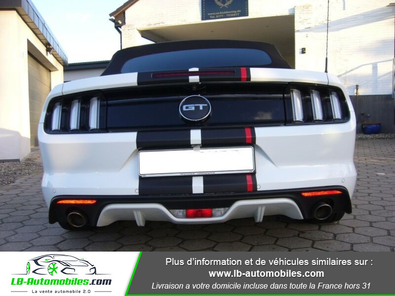Ford Mustang V8 5.0 421 / GT A Blanc occasion à Beaupuy - photo n°8