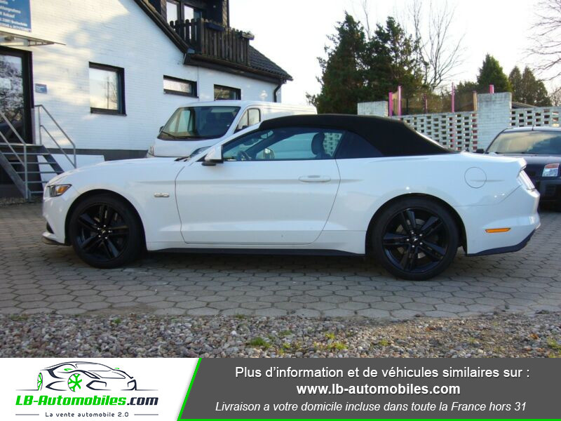 Ford Mustang V8 5.0 421 / GT A Blanc occasion à Beaupuy - photo n°7