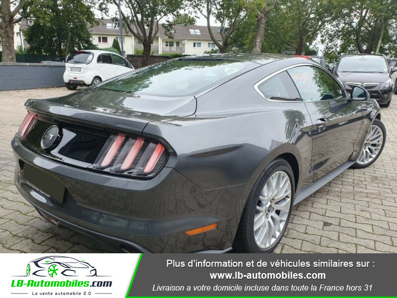 Ford Mustang V8 5.0 421 / GT A Gris occasion à Beaupuy - photo n°3