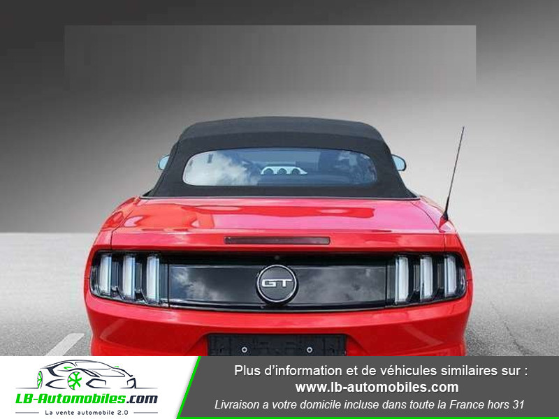 Ford Mustang V8 5.0 421 / GT A Rouge occasion à Beaupuy - photo n°9