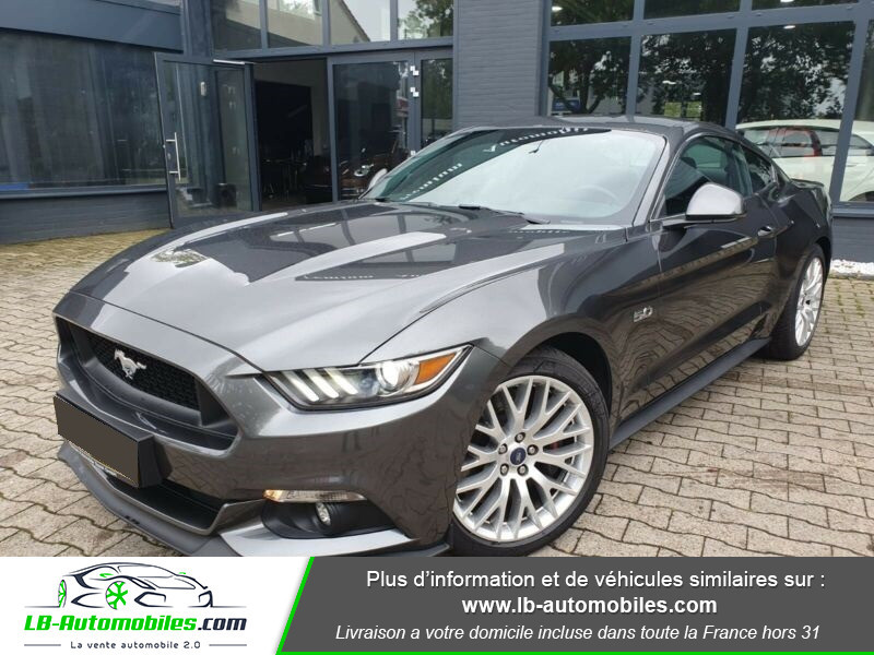 Ford Mustang V8 5.0 421 / GT A Gris occasion à Beaupuy