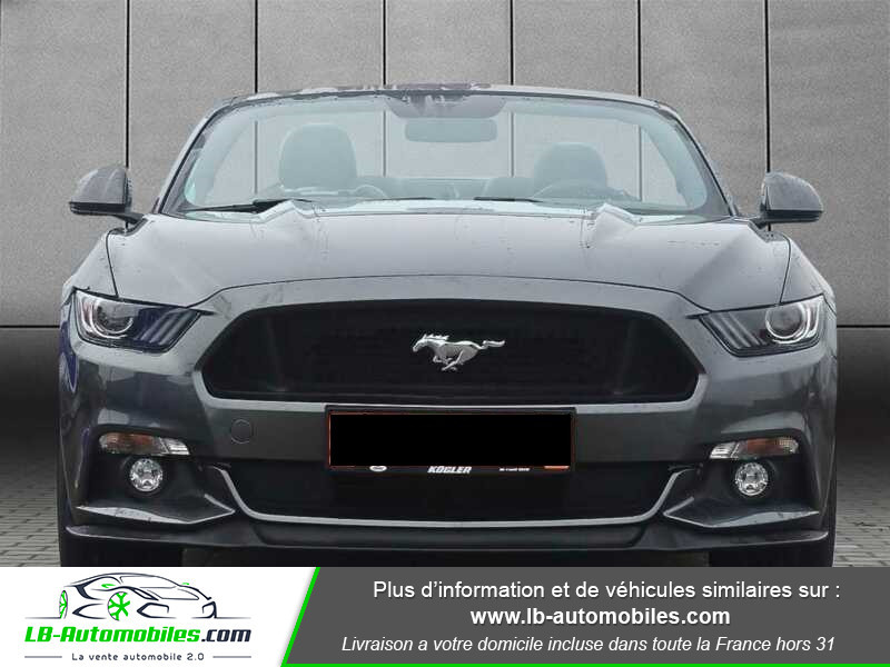 Ford Mustang V8 5.0 421 / GT A Gris occasion à Beaupuy - photo n°14