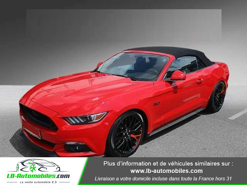 Ford Mustang V8 5.0 421 / GT A Rouge occasion à Beaupuy