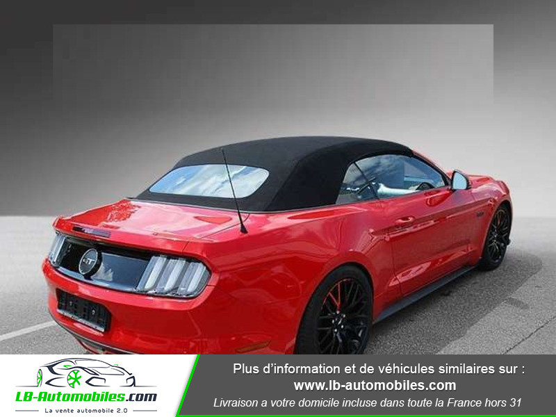 Ford Mustang V8 5.0 421 / GT A Rouge occasion à Beaupuy - photo n°3