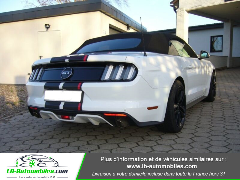Ford Mustang V8 5.0 421 / GT A Blanc occasion à Beaupuy - photo n°2