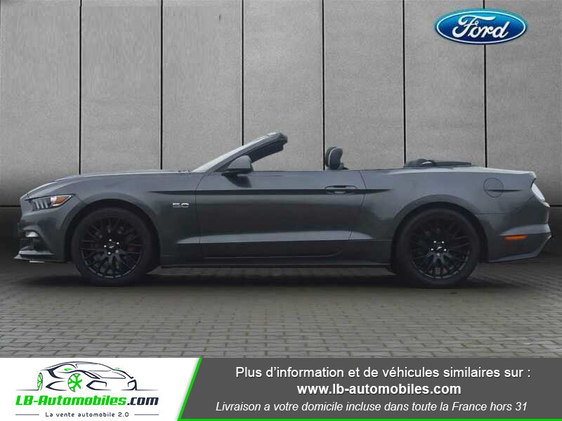 Ford Mustang V8 5.0 421 / GT A Gris occasion à Beaupuy - photo n°13