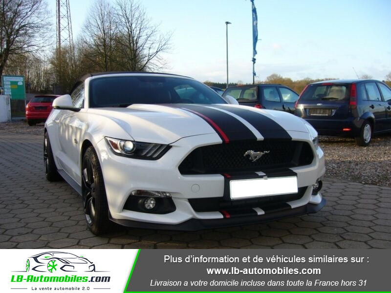 Ford Mustang V8 5.0 421 / GT A Blanc occasion à Beaupuy - photo n°6