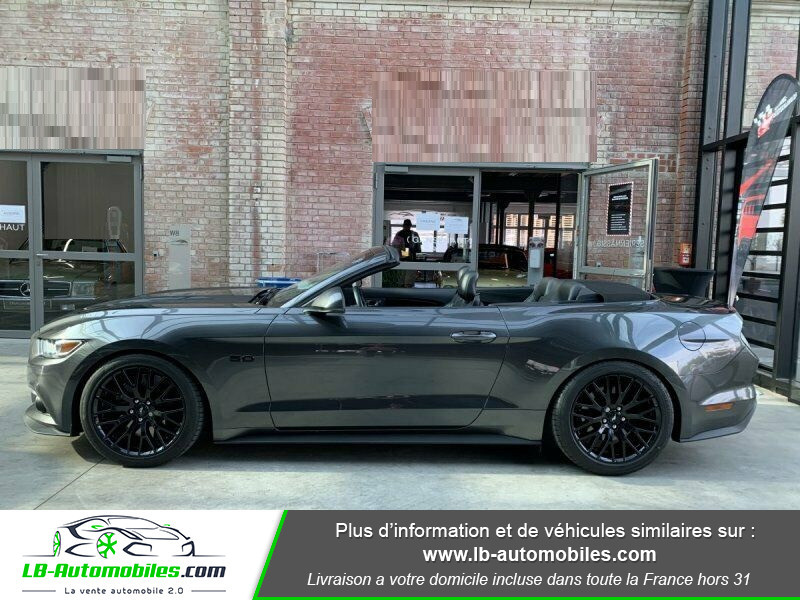 Ford Mustang V8 5.0 421 / GT Gris occasion à Beaupuy - photo n°9