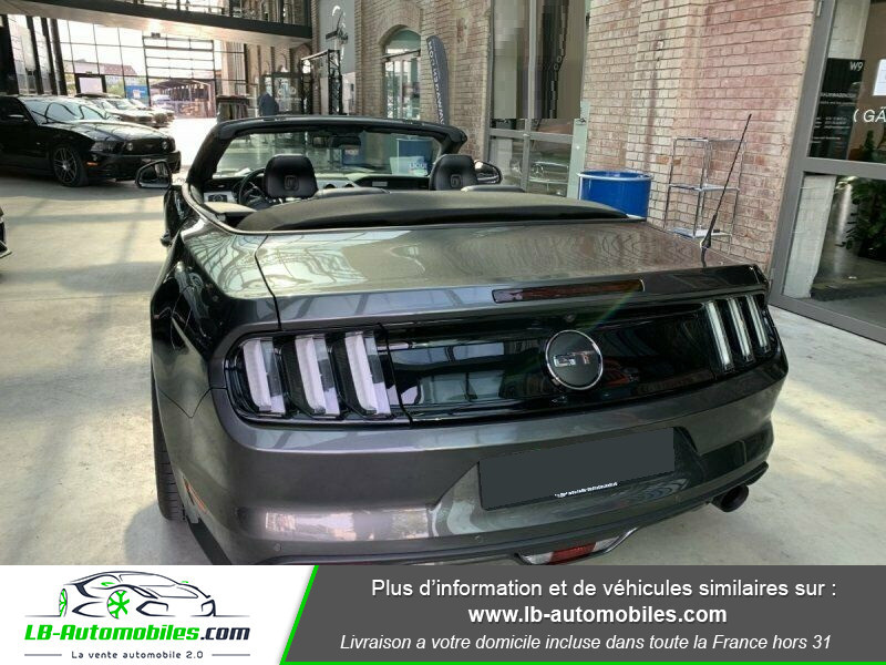 Ford Mustang V8 5.0 421 / GT Gris occasion à Beaupuy - photo n°10