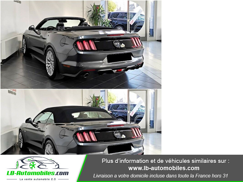 Ford Mustang V8 5.0 421 / GT Gris occasion à Beaupuy - photo n°3
