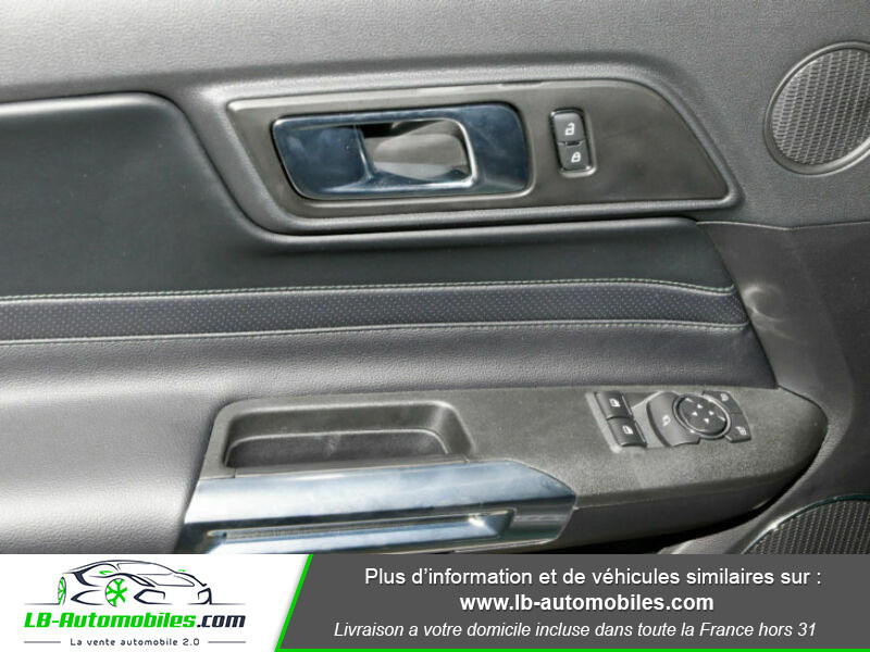 Ford Mustang V8 5.0 / Bullitt Vert occasion à Beaupuy - photo n°10