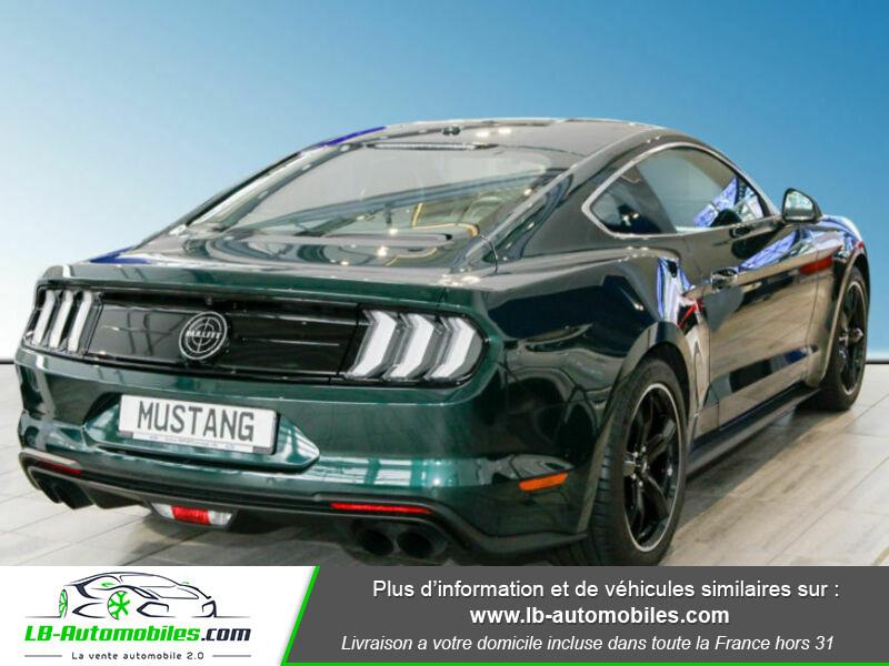 Ford Mustang V8 5.0 / Bullitt Vert occasion à Beaupuy - photo n°3