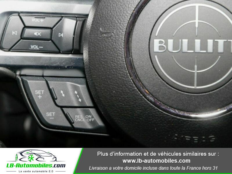 Ford Mustang V8 5.0 / Bullitt Vert occasion à Beaupuy - photo n°5