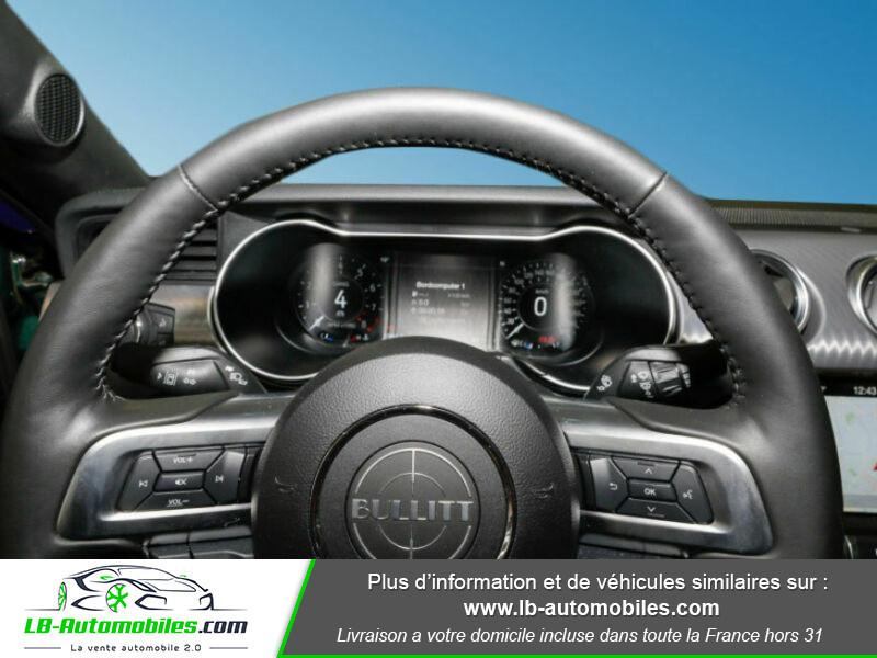 Ford Mustang V8 5.0 / Bullitt Vert occasion à Beaupuy - photo n°11