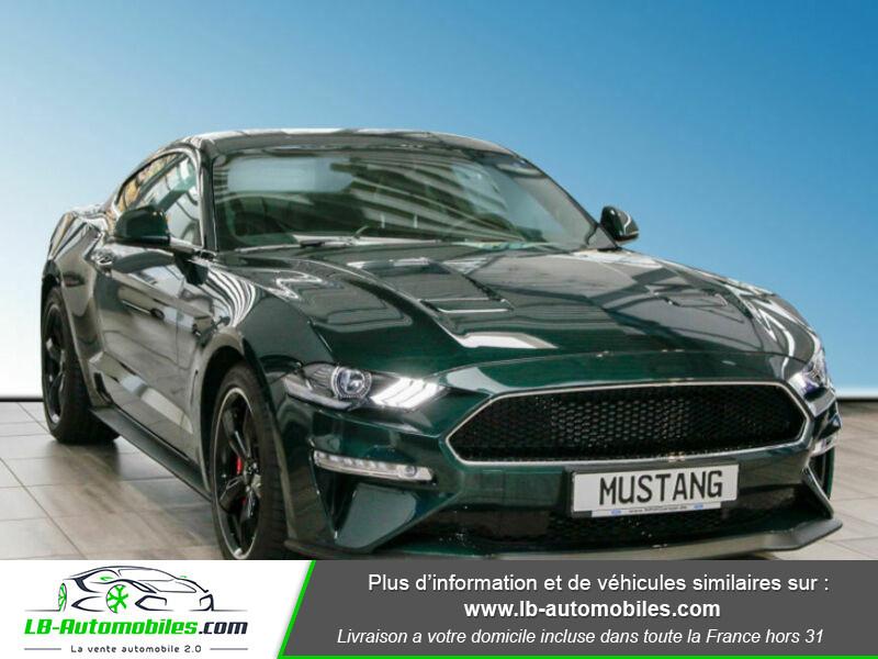 Ford Mustang V8 5.0 / Bullitt Vert occasion à Beaupuy - photo n°15