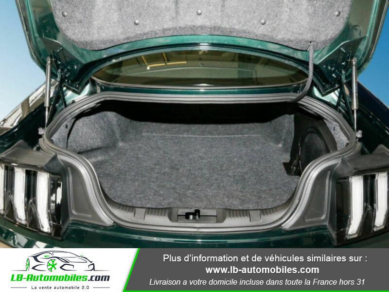 Ford Mustang V8 5.0 / Bullitt Vert occasion à Beaupuy - photo n°17