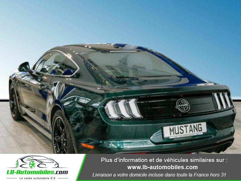 Ford Mustang V8 5.0 / Bullitt Vert occasion à Beaupuy - photo n°16