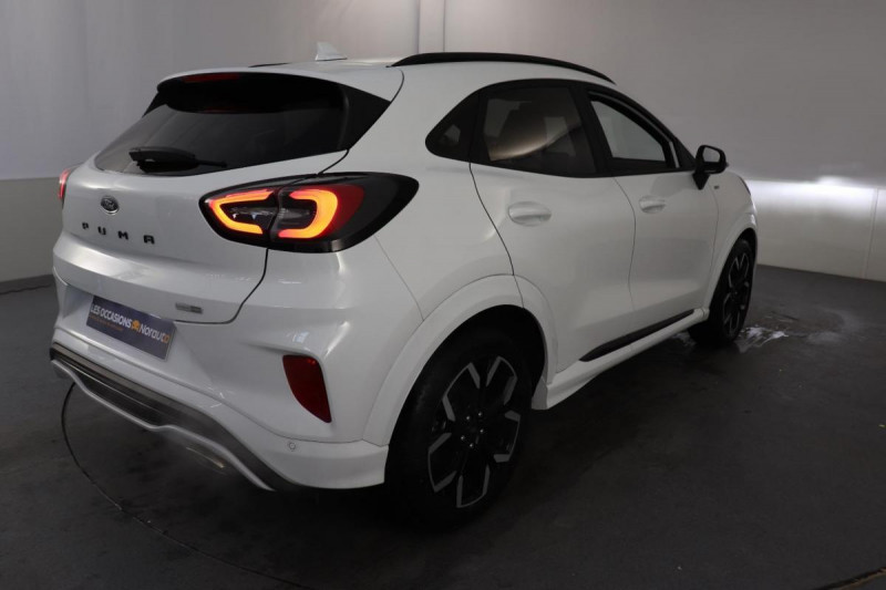 Ford Puma 1.0 EcoBoost 125 ch mHEV S&S BVM6 ST-Line X Blanc occasion à Tours - photo n°3