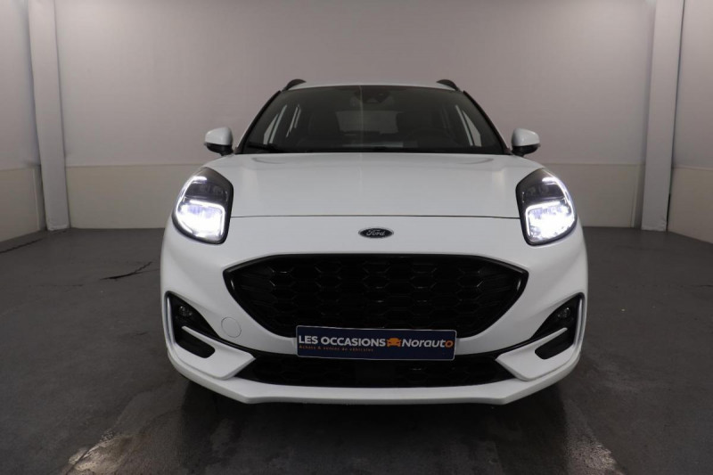 Ford Puma 1.0 EcoBoost 125 ch mHEV S&S BVM6 ST-Line X Blanc occasion à Tours - photo n°2