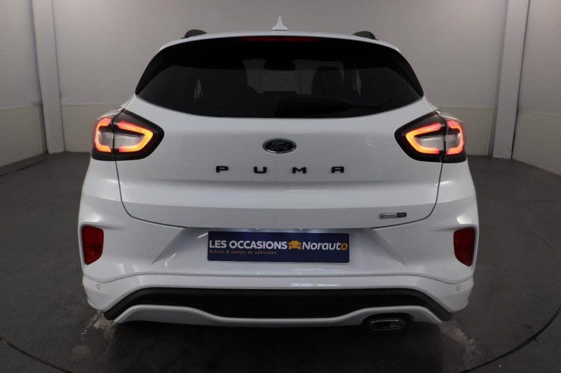 Ford Puma 1.0 EcoBoost 125 ch mHEV S&S BVM6 ST-Line X Blanc occasion à Tours - photo n°4
