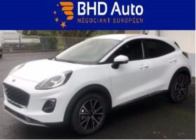 Ford Puma Blanc, garage BHD AUTO à Biganos
