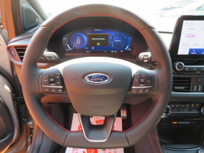 Ford Puma 1.0 ECOBOOST 125CH MHEV ST-LINE Gris occasion à Mérignac - photo n°10