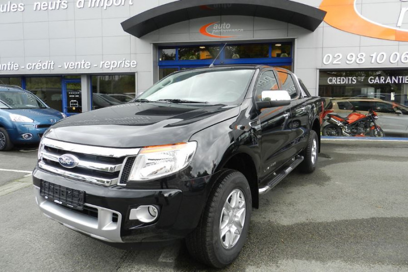 Ford Ranger 3.2 TDCI 200 DOUBLE CABINE LIMITED 4X4 Blanc occasion à Quimper
